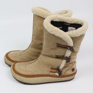Merrell Spirit Tibet High Timber suede winter boot